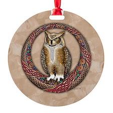 Celtic Owl Ornament