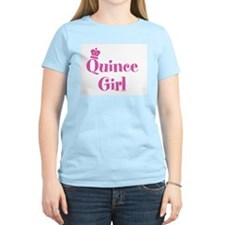 Quince Girl Women's Pink T-Shirt