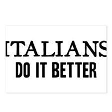 ITALIANS DO IT BETTER Postcards (Package of 8)