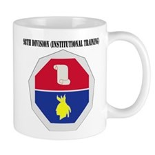 DUI - 98th Infantry Division with Text Mug