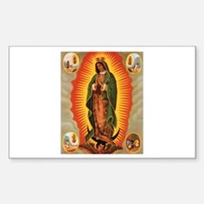 Guadalupe Rectangle Decal