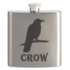 Black Crow Flask