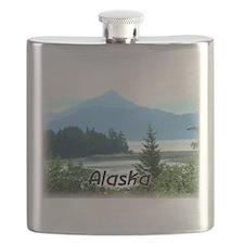 Alaska Scenic View Flask