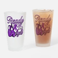 Ready Fight Cystic Fibrosis Drinking Glass