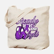Ready Fight Cystic Fibrosis Tote Bag