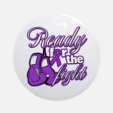 Ready Fight Cystic Fibrosis Ornament (Round)