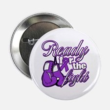 """Ready Fight Cystic Fibrosis 2.25"""" Button"""