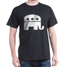 Republican Elephant White T-Shirt