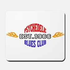 Psychedelic Blues Mousepad