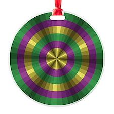 Mardi Gras Illusion Ornament