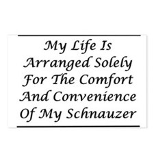 Schnauzer Convenience Postcards (Package of 8)