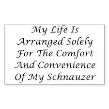 Schnauzer Convenience Decal