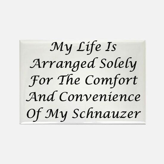 Schnauzer Convenience Rectangle Magnet