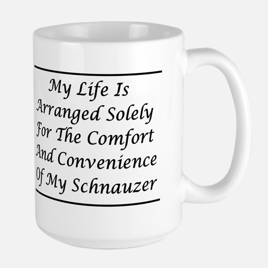 Schnauzer Convenience Large Mug