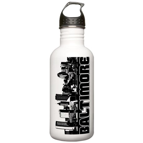 Baltimore Skyline Stainless Water Bottle 1.0L
