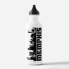 Memphis Skyline Water Bottle
