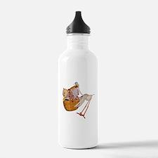 StorkNToon Triplets Water Bottle