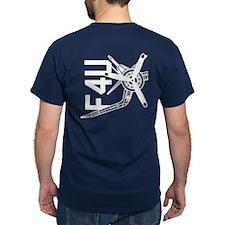 F4u Corsair Aggressive Angle T-Shirt