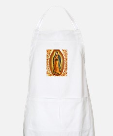 Guadalupe with Roses BBQ Apron
