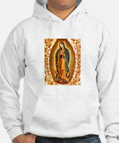 Guadalupe with Roses Hoodie