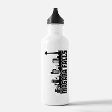 Niagara Falls Skyline Water Bottle