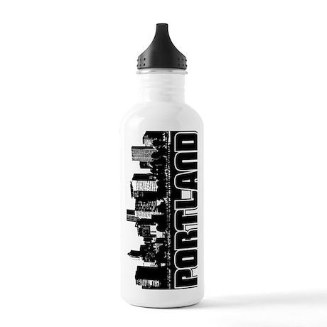 Portland Skyline Stainless Water Bottle 1.0L