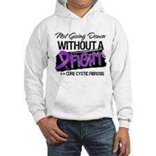 Not Going Down Cystic Fibrosis Hoodie