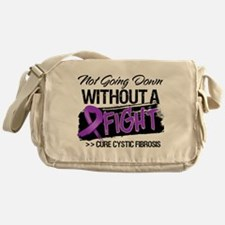 Not Going Down Cystic Fibrosis Messenger Bag