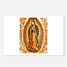 Guadalupe with Roses Postcards (Package of 8)