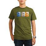 Be Real periodic table Organic Men's T-Shirt (dark