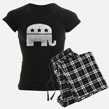 Republican Elephant White pajamas