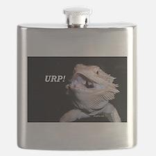 Beardie Burps! Flask