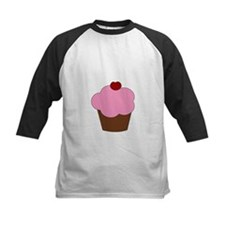 Pink Cupcake with Red Cherry Tee