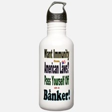 Bank_On_It! Water Bottle