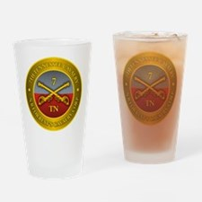 7th Tennessee Cavalry Drinking Glass