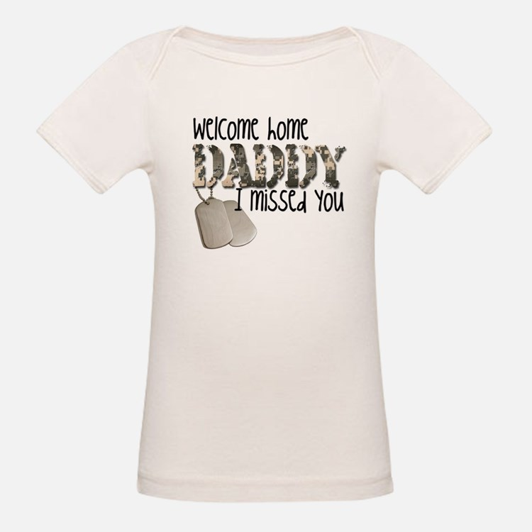 Cute Daddy home Tee