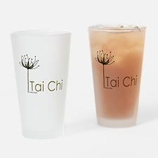 """Tai Chi Growth"" Drinking Glass"