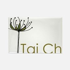 """Tai Chi Growth"" Rectangle Magnet"