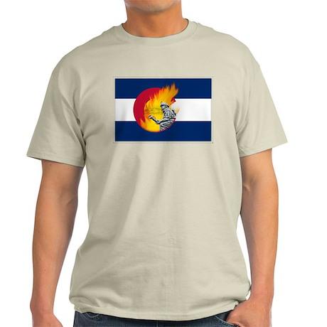 Waldo Canyon Fire, Colorado Light T-Shirt
