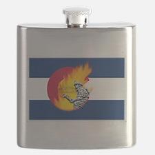 Waldo Canyon Fire, Colorado Flask
