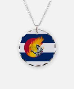 Waldo Canyon Fire, Colorado Necklace