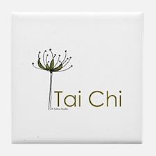 """Tai Chi Growth"" Tile Coaster"