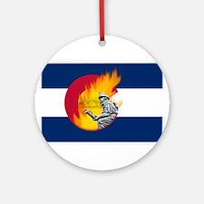 Waldo Canyon Fire, Colorado Ornament (Round)