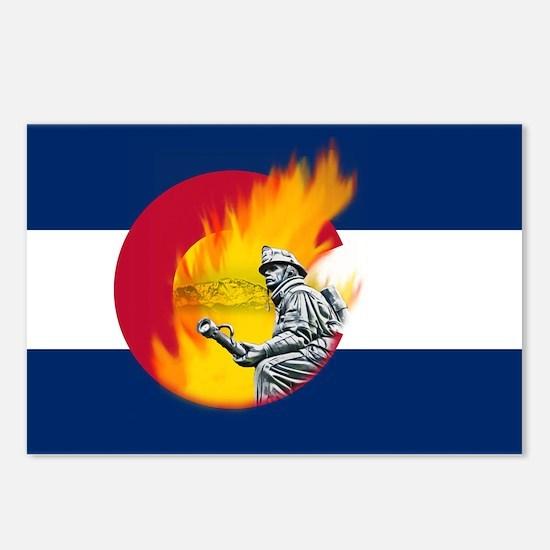 Waldo Canyon Fire, Colorado Postcards (Package of