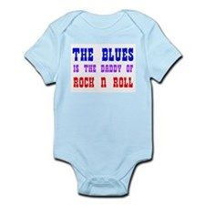Blues is the Daddy Infant Creeper