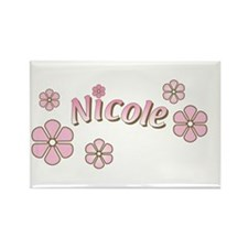 Special Order Name Flowers Rectangle Magnet