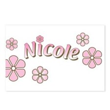Special Order Name Flowers Postcards (Package of 8