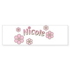 Special Order Name Flowers Bumper Bumper Sticker