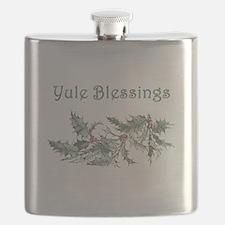 Yule Blessings Flask