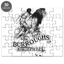 The Burroughs Bibliophiles Standard Logo Puzzle